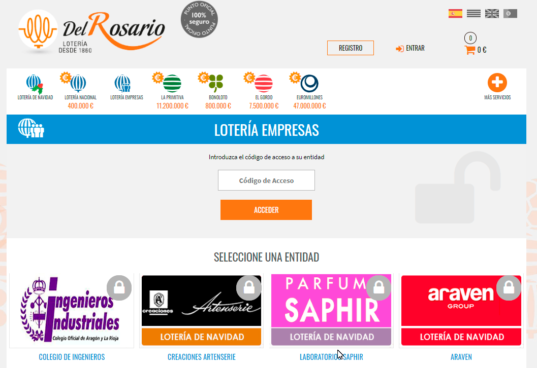 Loteria para empresas